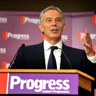 Tony Blair says Europe is too dependent on the US