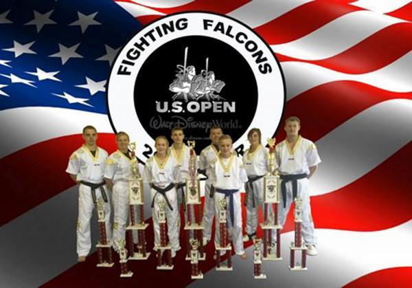 Fighting Falcons at the US Open in Florida