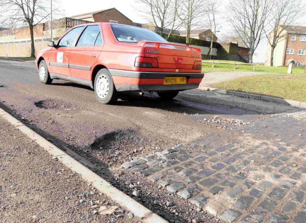 Councillor comes under fire over state of roads