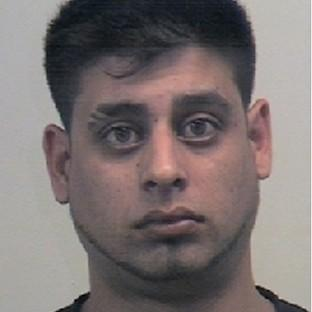 Shamraze Khan, with Kasim Ahmed have been jailed over the murder of pizza delivery driver Thavisha Lakindu Peiris in Sheffield (South Yorkshire Police/PA)