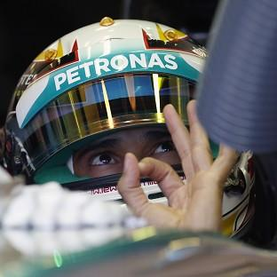 Lewis Hamilton enjoyed himself once again at the Hungaroring (AP)
