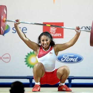 Zoe Smith lifted 118kg to cement her gold medal win