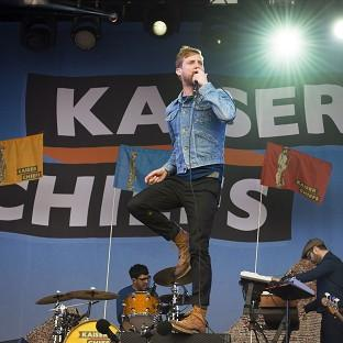 The Kaiser Chiefs are among the acts performing at the closing ceremony of the Invictus Games