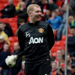Paul Scholes was briefly part of the Manchester United coaching staff last season
