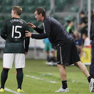 Ronny Deila's Celtic side slipped to a 4-1 defeat in Warsaw (AP)