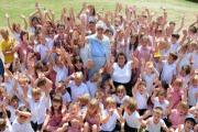 Saying goodbye after a lifetime at school