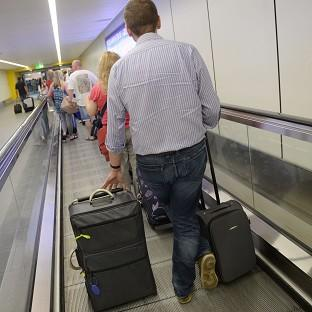 Some travellers at Gatwick Airport were sent home without their luggage due to lengthy delays last weekend
