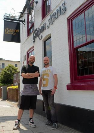Former Gordon Arms landlords and brothers Christian and David Stoner