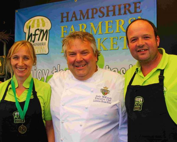 Hampshire Farmers' Market launches new food range to celebrate 15 years