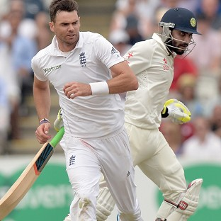 James Anderson, left, and Ravindra Jadeja, right, were both cleared of wrongdoing