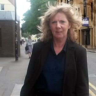 Teaching assistant Elaine McKay leaving Chelmsford Crown Court