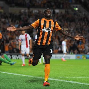 Sone Aluko kept Hull's European dream alive on Thursday