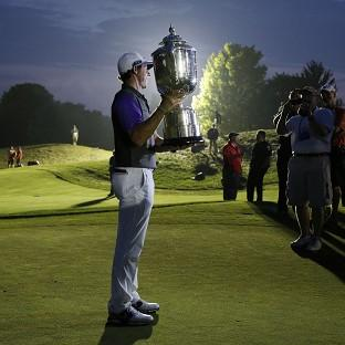Rory McIlroy has reset his goals after a dramatic US PGA triumph (AP)