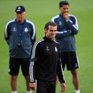 Gareth Bale will start for Real Madrid in Cardiff on Tuesday
