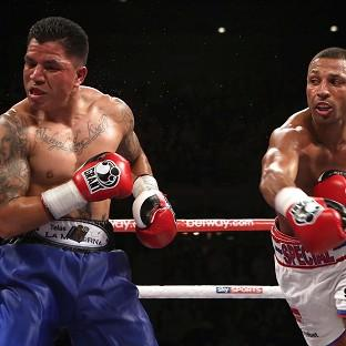 Kell Brook, right, has no reason to fear Shawn Porter according to his trainer Dominic Ingle