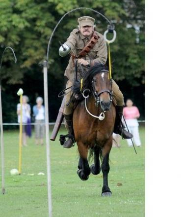 Skinner's Horse will giving a WWI cavalry demonstration at the Romsey Show