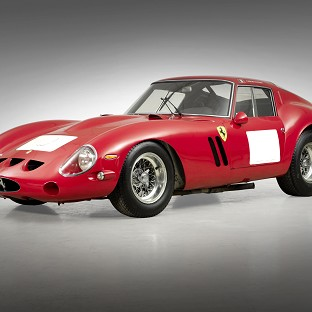 The 1962 Ferrari 250 GTO Berlinetta sold for £22.84m in California (Bonhams/PA)
