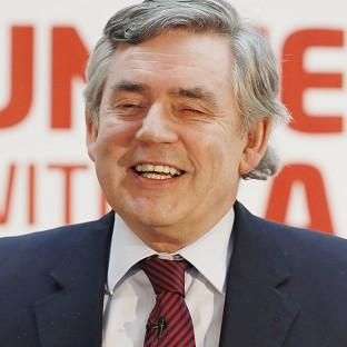 Gordon Brown attacked the SNP's plan for a currency union, insisting it would cede control over 'the important issues affecting our lives' to a Westminster government