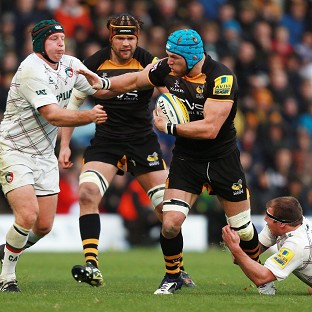 James Haskell, centre, will captain Wasps this season