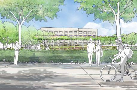 Artist's impression shows the future of the former Eli Lilly site