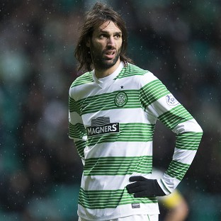 Georgios Samaras left Celtic at the end of last season after six years at the club