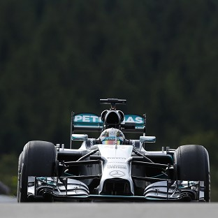 Lewis Hamilton was easily the fastest in second practice ahead of Sunday's Belgian GP (AP)