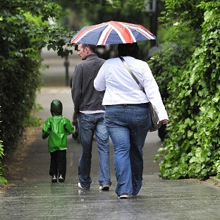 Bank Holiday washout across Britain