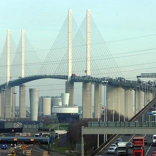 The lorry was found at the Dartford crossing