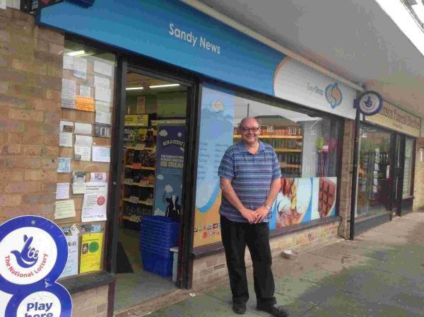 Graham Bristow bought Sandy News in Fair Oak in 1993