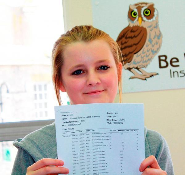 Results keep teen on course