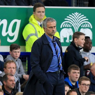 Chelsea manager Jose Mourinho accused Everton's players of trying to get striker Diego Costa into trouble