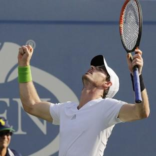 Andy Murray is happy with his form ahead of a US Open quarter-final against Nov