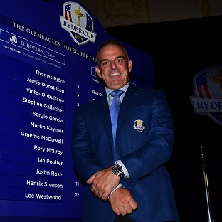 McGinley: Seeing Luke will be tough