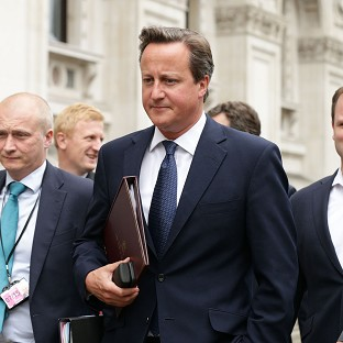 UK not cowed by IS threats - PM