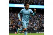 Manchester City's David Silva enjoyed getting on the scoresheet against Crystal Palace