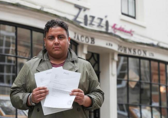 Karim Kazane says letters from Zizzi failed to take his complaint seriously