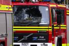 Police appeal following Andover shed fire yesterday