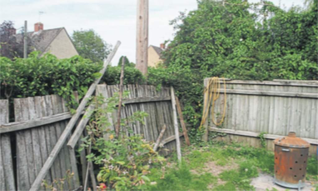 Aster housing couple's fence misery
