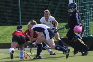 Ladies hockey team open new season with a win