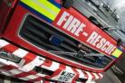 Fire crews free casualty involved in a road traffic collision
