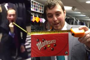 Chocs away! Winchester tailors' Malteser trick notches 1m views