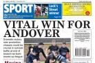 Andover Advertiser back page: Friday 11 December 2015
