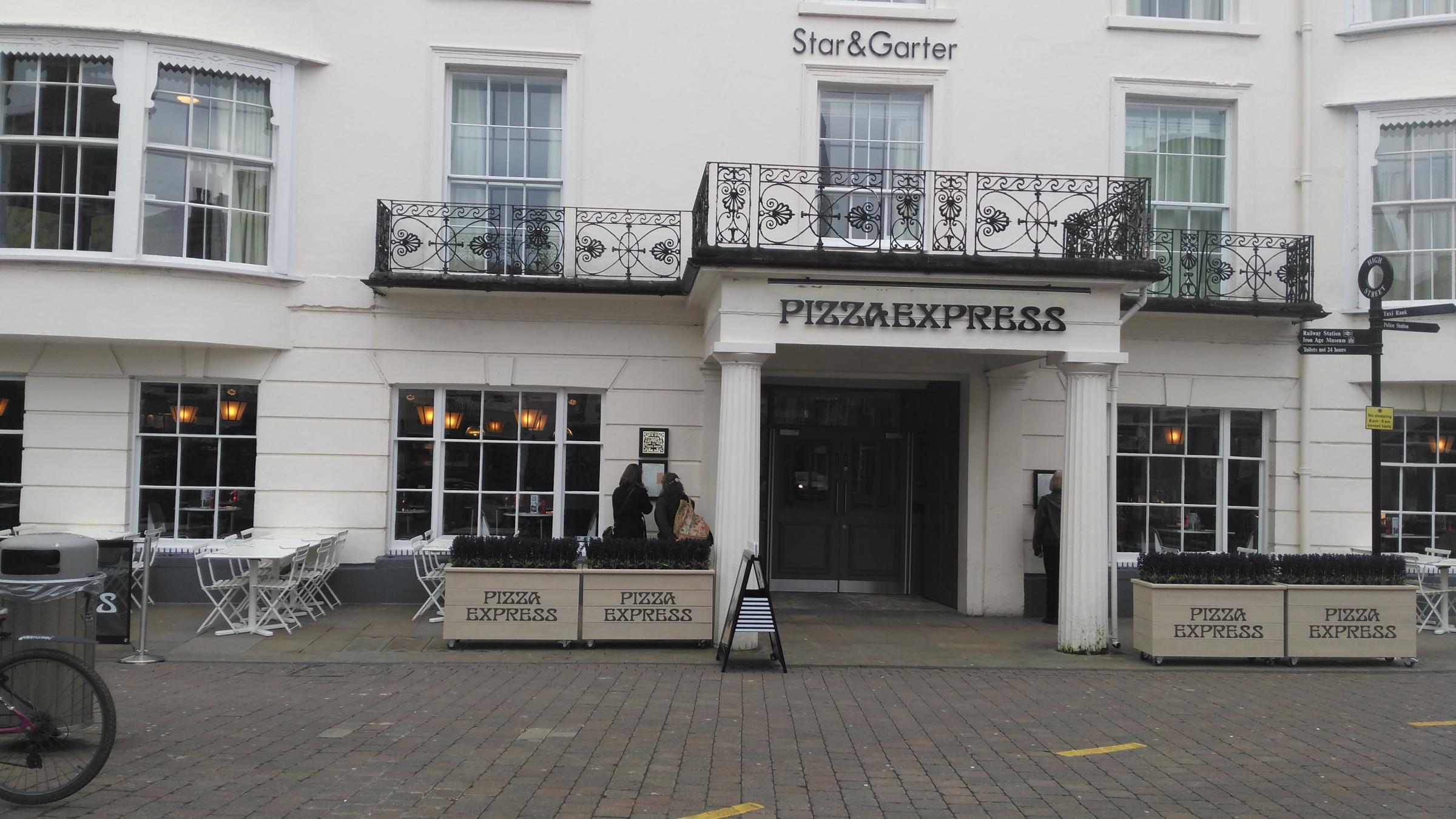New Pizza Express In Ground Floor Of Star Garter Hotel
