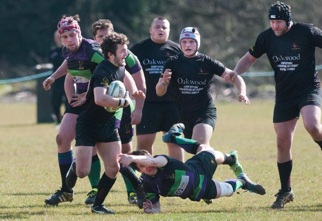 Stalemate in relegation 'six pointer' after Andover's last minute try