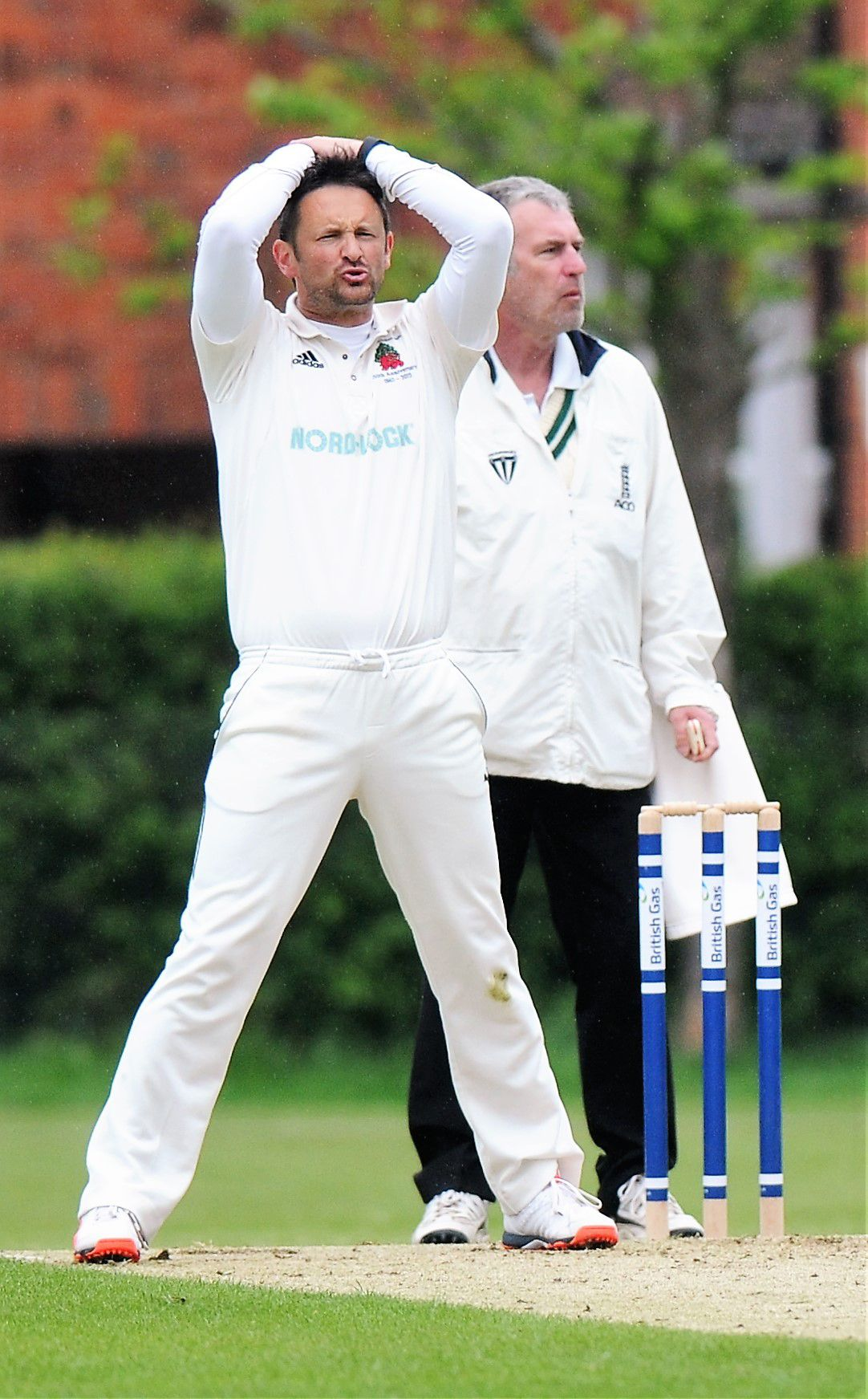 Glyn Treagus (pictured) hit 104 against Sarisbury - the club's first century of the summer season