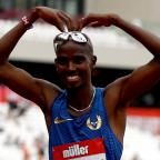 Andover Advertiser: Growing up in a shack fired Mo Farah towards Olympic glory