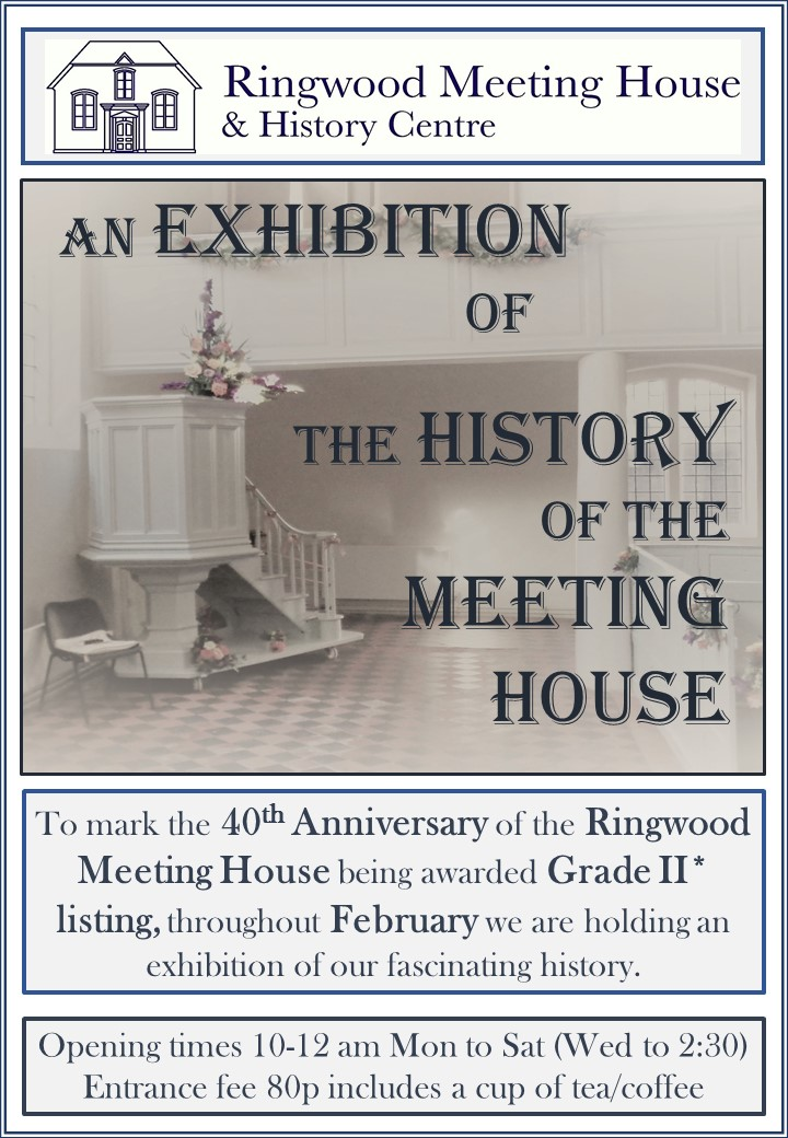 History of the Ringwood Meeting House
