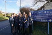 "Pupils with ""enviable community spirit"" launch campaign to put traffic calming measures outside school"
