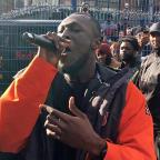 Andover Advertiser: Stormzy throws free gig in Camden park to celebrate new album