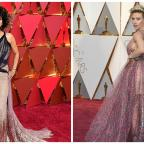 Andover Advertiser: Scarlett Johansson and Halle Berry both had major hair moments on the Oscars red carpet